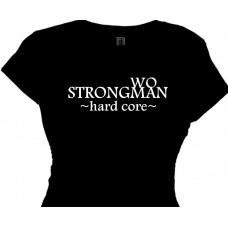 StrongWOman STRONGMAN Fitness Training T-Shirt